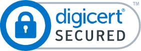 Digicert secured logo